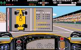 Indianapolis 500: The Simulation DOS Pit stop (VGA)