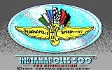 Indianapolis 500: The Simulation DOS Title Screen (Tandy)