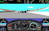 Indianapolis 500: The Simulation DOS Behind the wheel of March Cosworth (Tandy)
