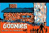 The Goonies Apple II Title screen