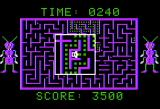 Dung Beetles Apple II Cleared the level!