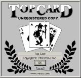 Top Card Windows The game's title screen
