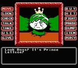 Princess Tomato in the Salad Kingdom NES Your future brother-in-law