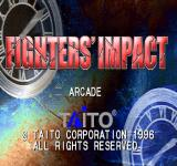 Fighters' Impact PlayStation Title screen