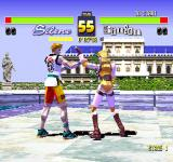 Fighters' Impact PlayStation Next fight - hands duel
