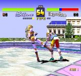 Fighters' Impact PlayStation Low kick