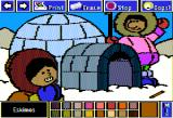 Electric Crayon: This Land Is Your Land Apple II Eskimos