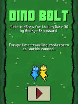 Dino Bolt Browser Title screen