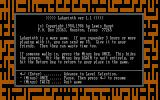 Labyrinth DOS Title screen