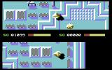 Hyperrace Commodore 64 Avoid the obstacles
