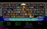 Indiana Jones and The Last Crusade: The Graphic Adventure DOS In the library (EGA) - the shelves look beautiful, but actually looking for the correct books is very labor-intensive.