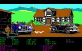 Indiana Jones and The Last Crusade: The Graphic Adventure DOS Time to switch means of transport! (EGA) - Actually, with a pass signed by Hitler himself, getting past every roadblock is a piece of cake, much easier than travelling by air.