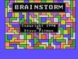 Brainstorm Coleco Adam Title screen