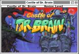 Castle of Dr. Brain Macintosh Title screen