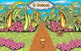 Adventures in Math Amiga Earning points by spotting a monkey