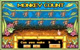 Adventures in Math Amiga Monkey count