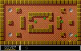 "Oxyd magnum!	 Atari ST Level 10: a ""meditation"" stage - get the four small marbles in the holes."