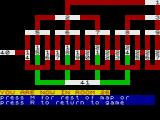 The White Barrows ZX Spectrum Plan of the chambers
