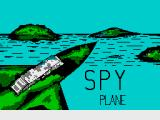 Spyplane ZX Spectrum Loading Screen