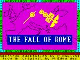 The Fall of Rome ZX Spectrum Loading Screen
