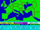 The Fall of Rome ZX Spectrum Moving troops
