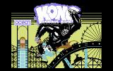 Kong Strikes Back! Commodore 64 Loading Screen