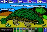 Electric Crayon Deluxe: Dinosaurs Are Forever Apple II Ankylosaurus was built like a tank