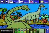 Electric Crayon Deluxe: Dinosaurs Are Forever Apple II Brachiosaurus was possibly the largest animal that ever lived