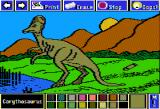 Electric Crayon Deluxe: Dinosaurs Are Forever Apple II Corythosaurus had an extremely large, hollow crest on its head, possibly used to amplify its mating or warning calls