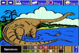 Electric Crayon Deluxe: Dinosaurs Are Forever Apple II Diplodocus is considered the longest dinosaur ever with a very small head