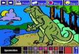 Electric Crayon Deluxe: Dinosaurs Are Forever Apple II Iguanodon had spiked thumbs which were probably used as defensive weapons or possibly for mating