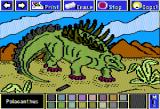 Electric Crayon Deluxe: Dinosaurs Are Forever Apple II Polacanthus had a protective bony armor that was covered from neck to hips with large spikes and its tail was covered with 2 rows of vertical plates