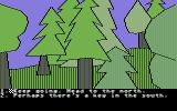 Olin in Emerald: Kingdom of Myrrh Commodore 64 Which direction next?