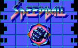 Speedball DOS Title screen