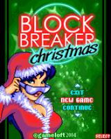 Block Breaker Christmas (J2ME