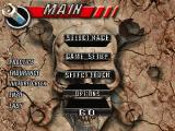 Thunder Truck Rally DOS Main menu