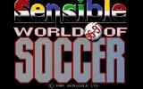 Sensible World of Soccer '96/'97 DOS Title screen
