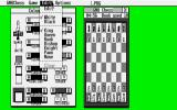 GNU Chess Atari ST (v4.0) Playing in medium resolution