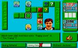 Emlyn Hughes Arcade Quiz Atari ST Different level, different board layout