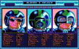 Speedball DOS Choose you character
