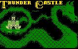 Thunder Castle Intellivision Splash screen one