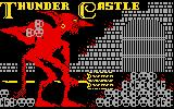 Thunder Castle Intellivision Splash screen three