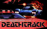 Deathtrack DOS Title screen