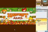 Harvest Mania Browser Title screen.