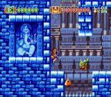 Skyblazer SNES Ice level