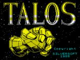 Talos ZX Spectrum Title screen
