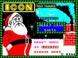 Merry Xmas Santa ZX Spectrum Title screen