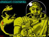 Cosmic Cruiser ZX Spectrum Title screen