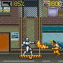 RoboCop J2ME Bad guy with a flame thrower