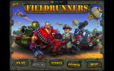 Fieldrunners Windows Main menu